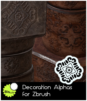 Biscuits Decoration Alphas for Zbrush 2D Merchant Resources Biscuits