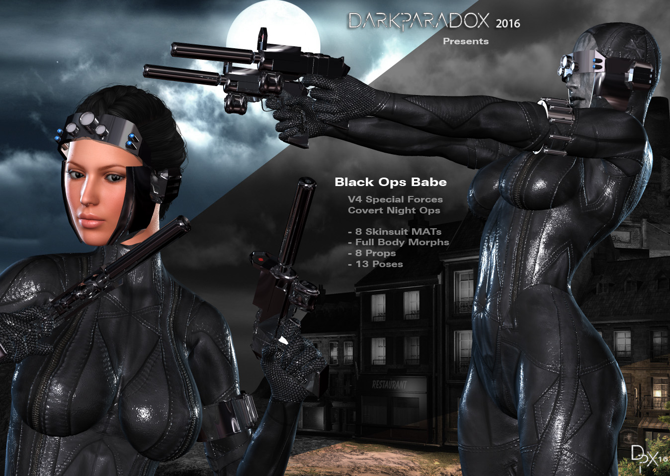Black Ops Babe