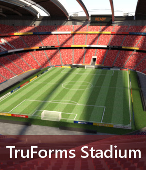 TruForms Stadium 3D Models TruForm