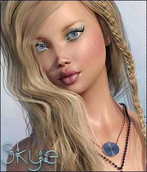 Twizted Girls: Skye 3D Figure Essentials TwiztedMetal