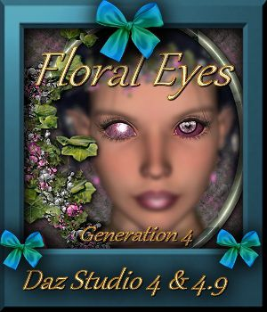 Botany : Floral Eyes 3D Figure Essentials farfadelf