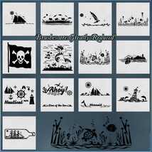 Oceanic Nautical Brushes and Png Files Pack image 1