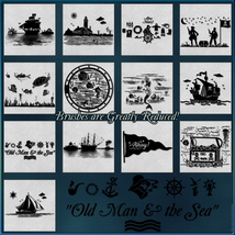 Oceanic Nautical Brushes and Png Files Pack image 2