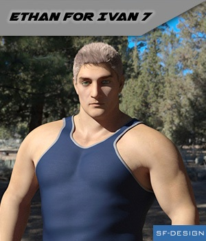 Ethan for Ivan 7 - Full Character 3D Figure Essentials SF-Design