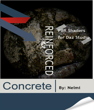 Reinforced Concrete Shaders for Daz Studio 3D Figure Essentials nelmi