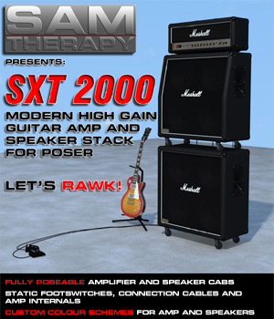 SXT2000 Modern High Gain Guitar Amp and Speaker Stack