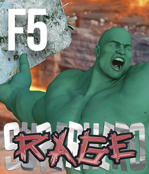 SuperHero Rage for Freak 5 Volume 1 3D Figure Essentials GriffinFX