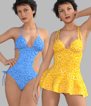 GaoDan Swimwear 17 3D Figure Essentials gaodan