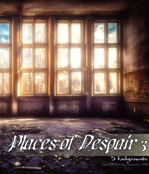 Places of Despair 3 2D backgrounds