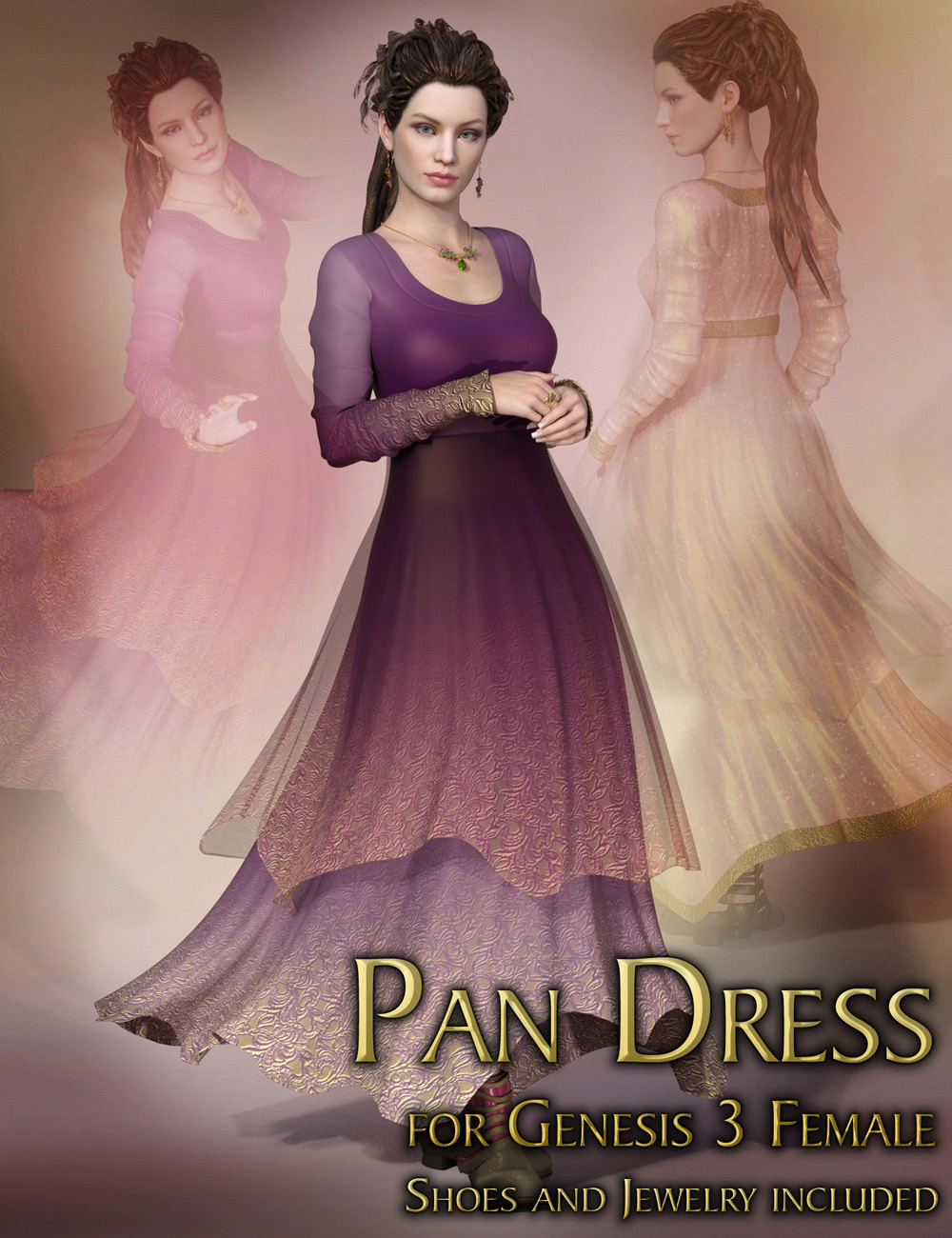 Pan Dress for Genesis 3 Female