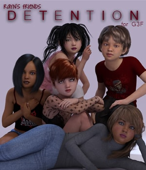 Rayn's Friends: Detention 3D Figure Essentials AliveSheCried