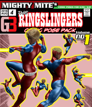 The Ringslingers v01 : By MightyMite for G3M/G3F 3D Figure Essentials MightyMite