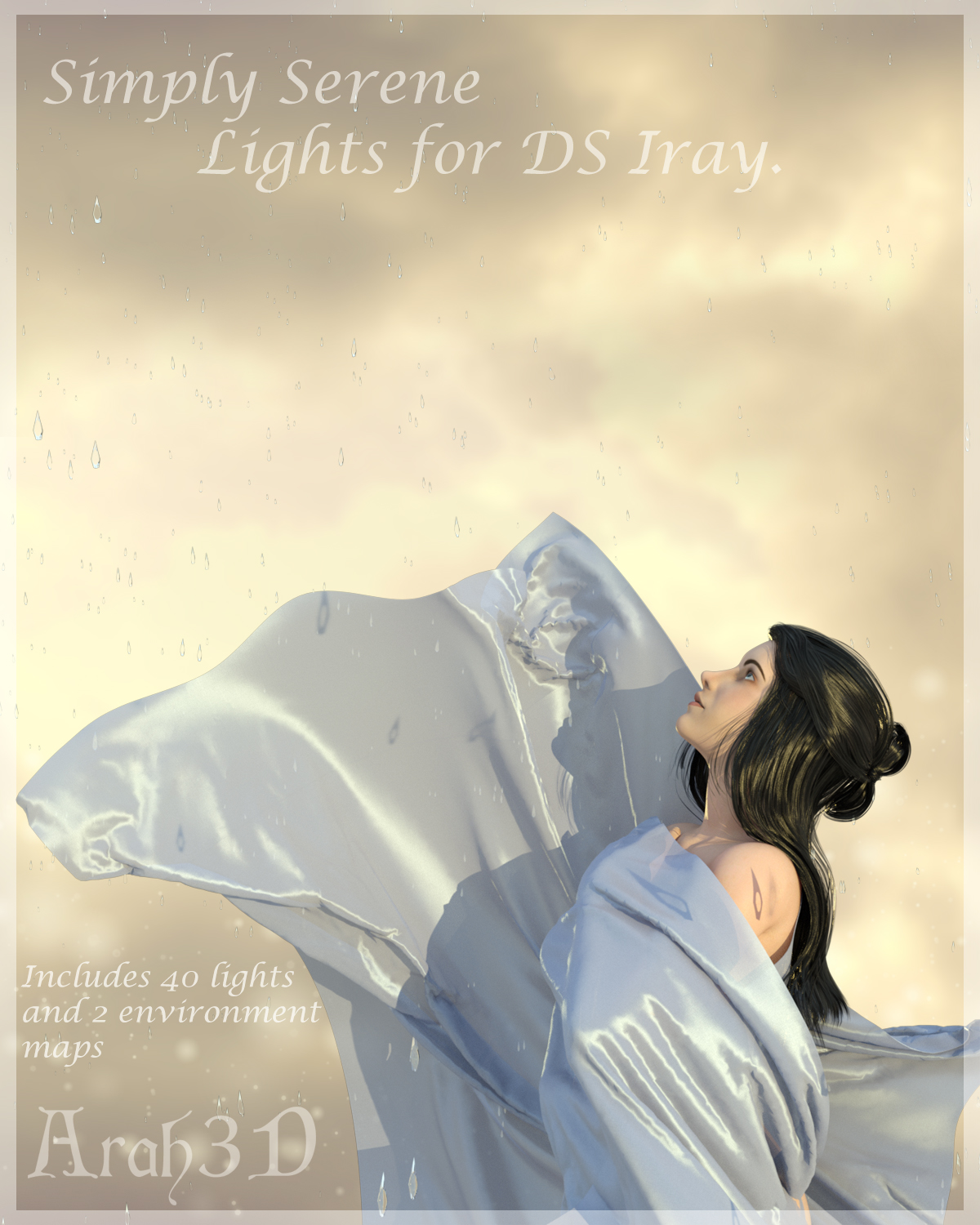 Arah3D Simply Serene Lights for DS Iray by Arah