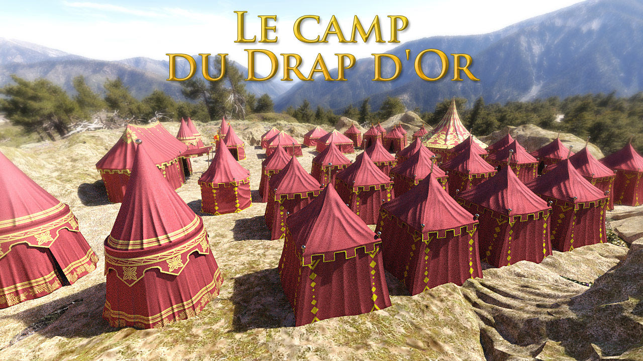 Le Camp du Drap d'Or for DS Iray
