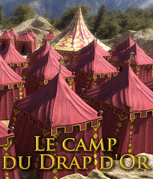 Le Camp du Drap d'Or for DS Iray 3D Models powerage