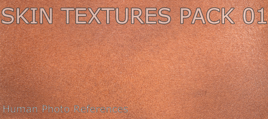 Skin Textures Pack 01 by levius