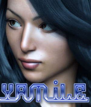 Yamile for G3F 3D Figure Assets Anain