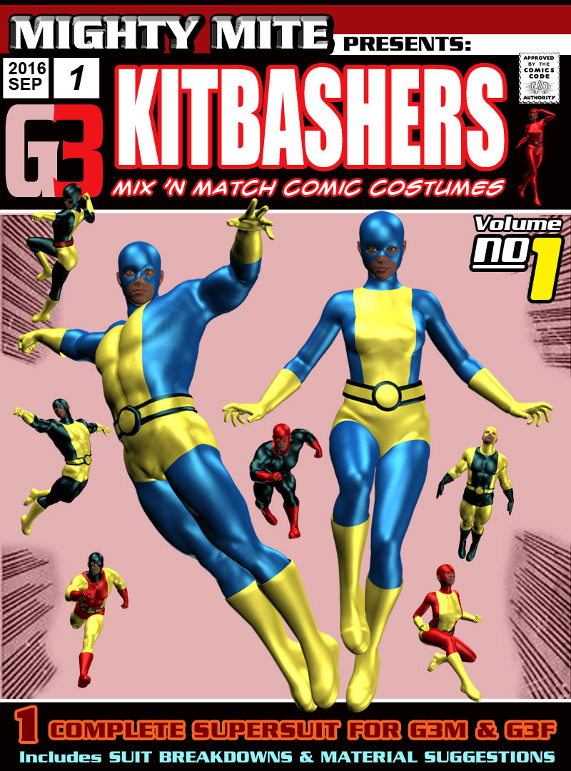 Kitbashers 001 MMG3 by MightyMite