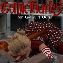 GothicHarley for Goth Girl Outfit G3F image 4