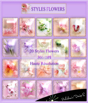 Styles Flowers 2D Graphics Merchant Resources Perledesoie