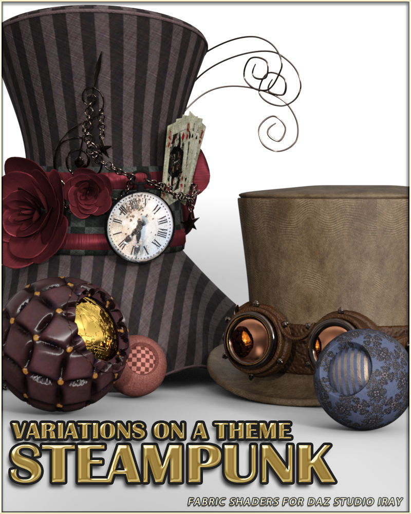 Variations on a Theme - Steampunk by vyktohria