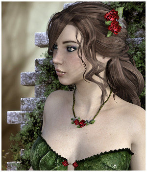 Messy Hair G3 and G2 for DS and Poser by Propschick
