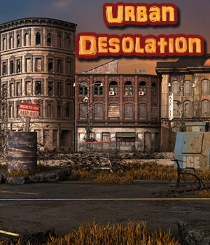 Urban Desolation Backgrounds 2D Graphics fictionalbookshelf