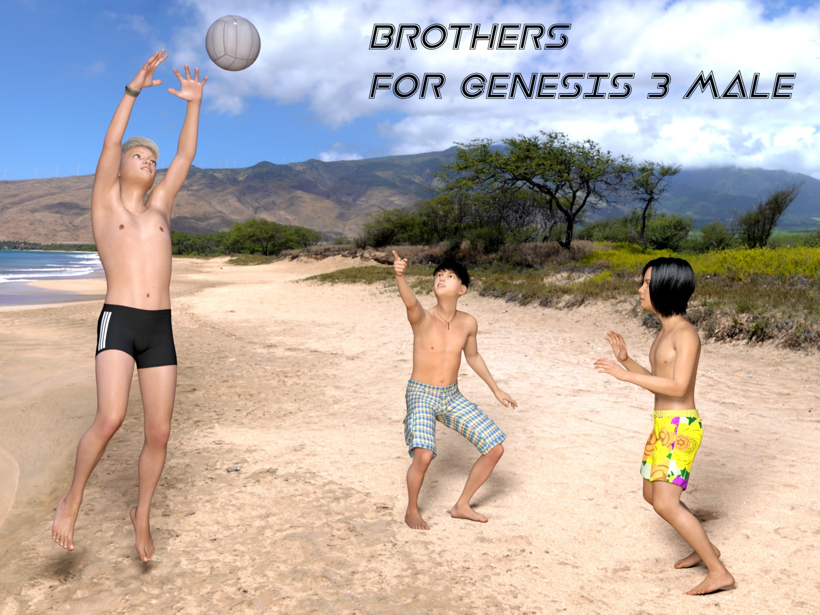 Brothers for Genesis 3 Male