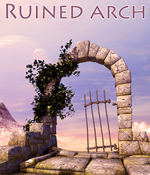 Ruined arch 3D Models 1971s