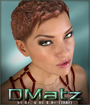 DMatz MSC Zbysek Hair 3D Figure Essentials -Wolfie-