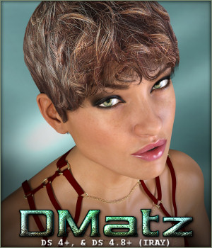 DMatz MSC Street Hair 3D Figure Essentials -Wolfie-