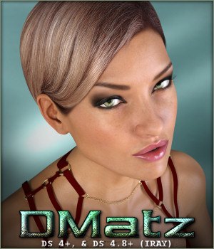 DMatz MSC Dana Hair 3D Figure Essentials -Wolfie-