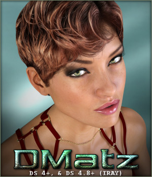 DMatz MSC Dinasty Hair 3D Figure Assets -Wolfie-