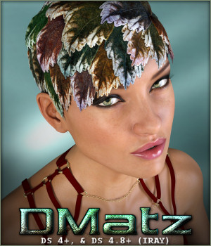 DMatz MSC Natura Hair 3D Figure Essentials -Wolfie-