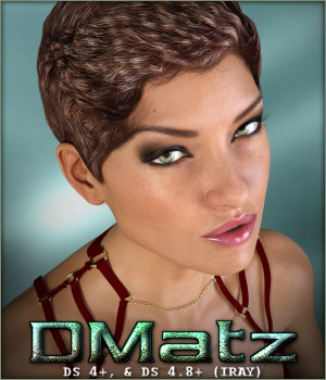 DMatz MSC Class Hair 3D Figure Essentials -Wolfie-