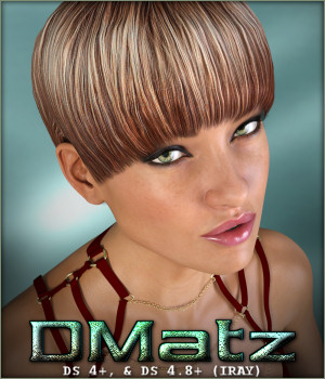 DMatz MSC Viola Hair 3D Figure Essentials -Wolfie-