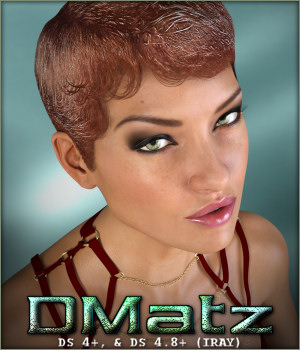 DMatz MSC Gel Hair 3D Figure Assets -Wolfie-
