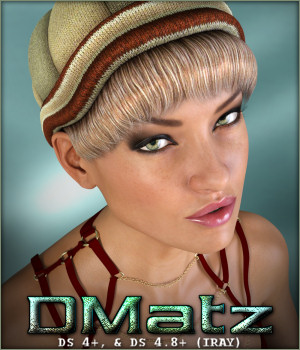 DMatz MSC Beanie and Hair 3D Figure Assets -Wolfie-