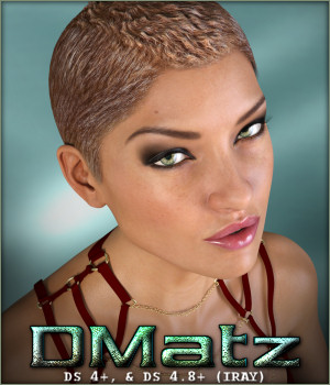 DMatz MSC Soldier Hair 3D Figure Essentials -Wolfie-