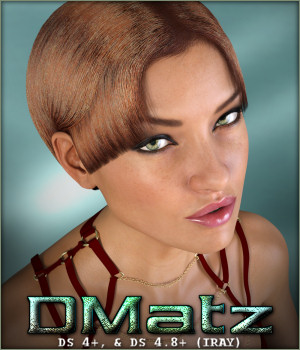 DMatz MSC Agata Hair 3D Figure Essentials -Wolfie-