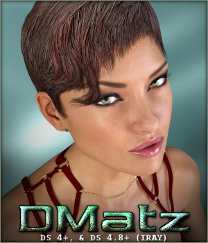 DMatz MSC Madame Hair 3D Figure Essentials -Wolfie-