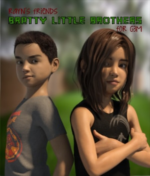 Rayn's Friends - Bratty Little Brothers 3D Figure Essentials AliveSheCried