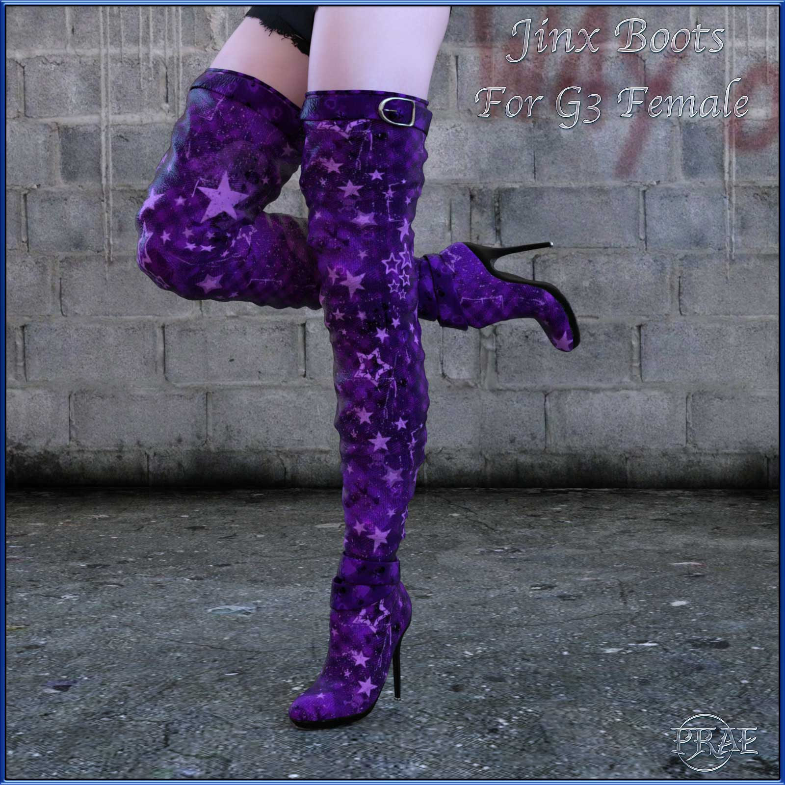 Jinx Boots for G3 by prae