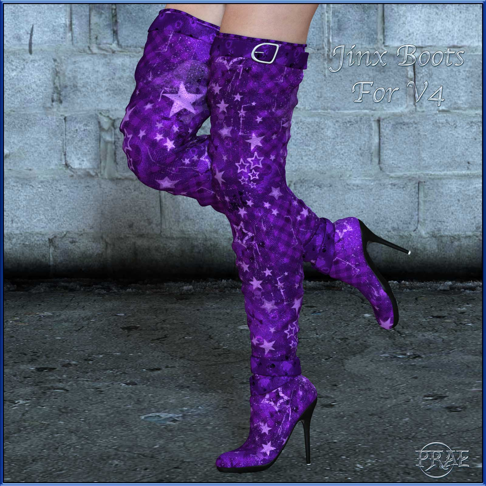 Jinx Boots for V4 by prae