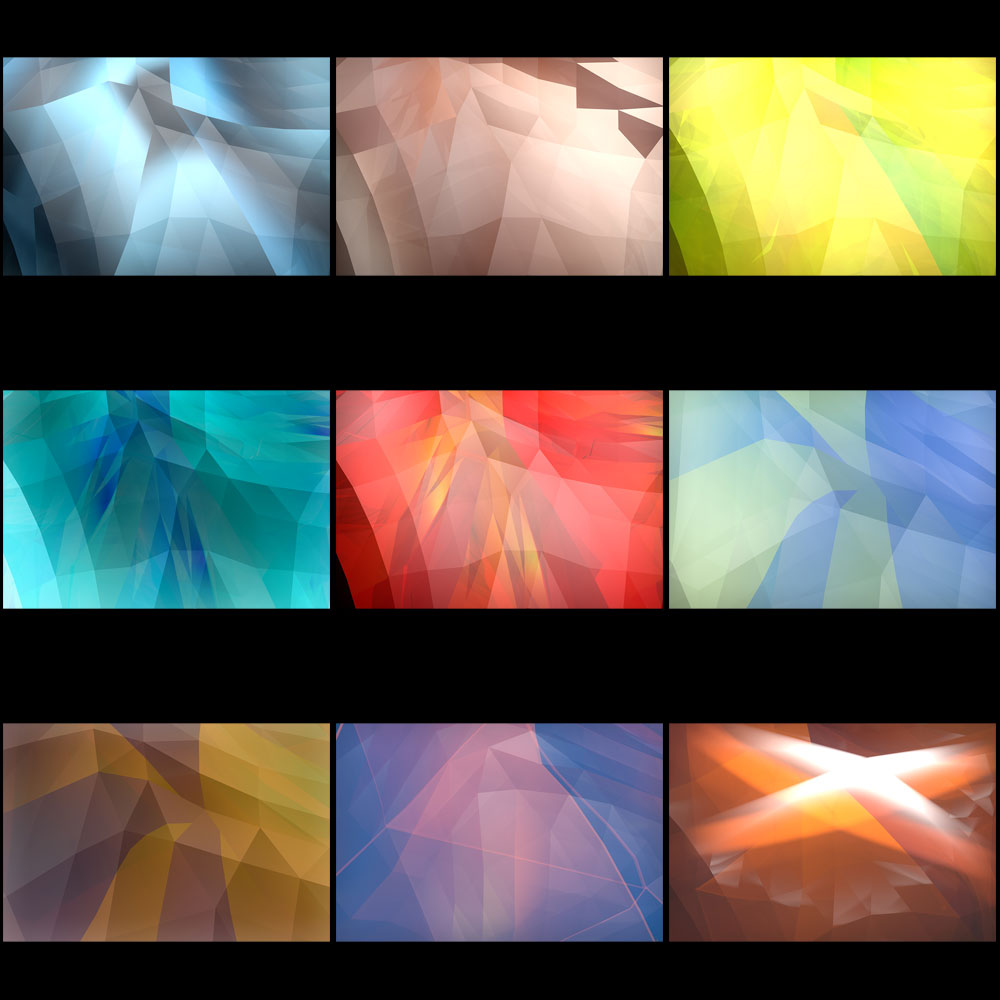 28 Light and Facet Textures