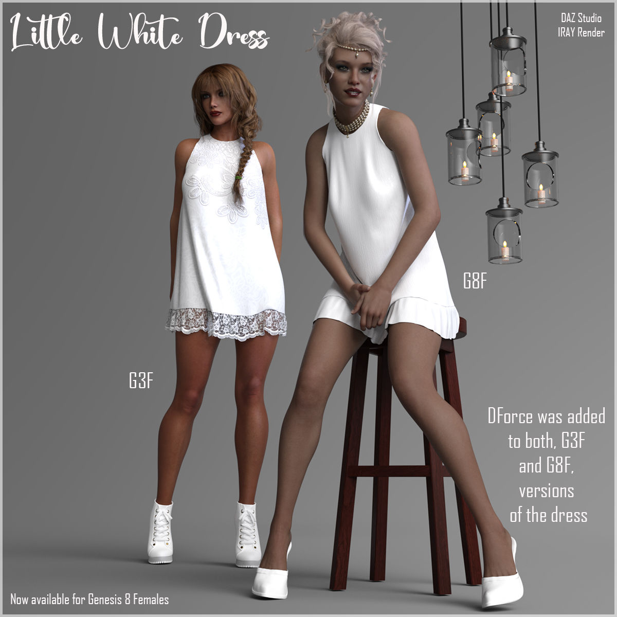 The Little White Dress for Genesis 3 by RPublishing