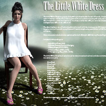 The Little White Dress for Genesis 3 image 1