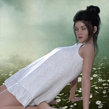 The Little White Dress for Genesis 3 image 3