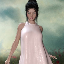 The Little White Dress for Genesis 3 image 5
