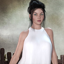 The Little White Dress for Genesis 3 image 6